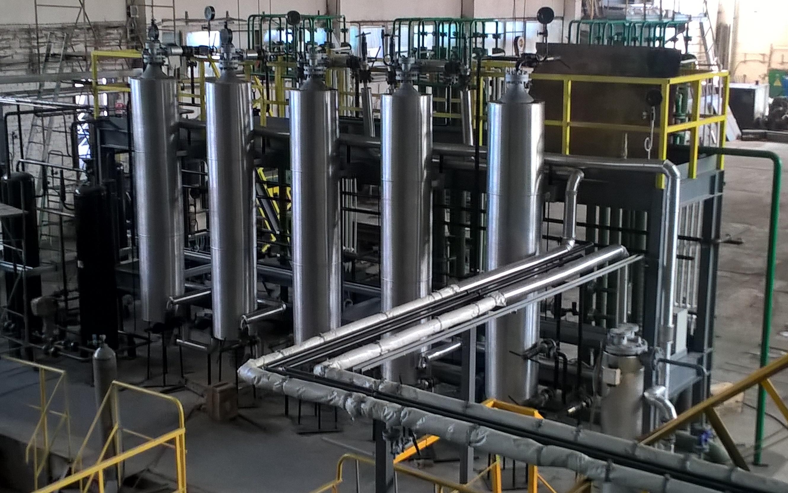 Производство углекислоты
